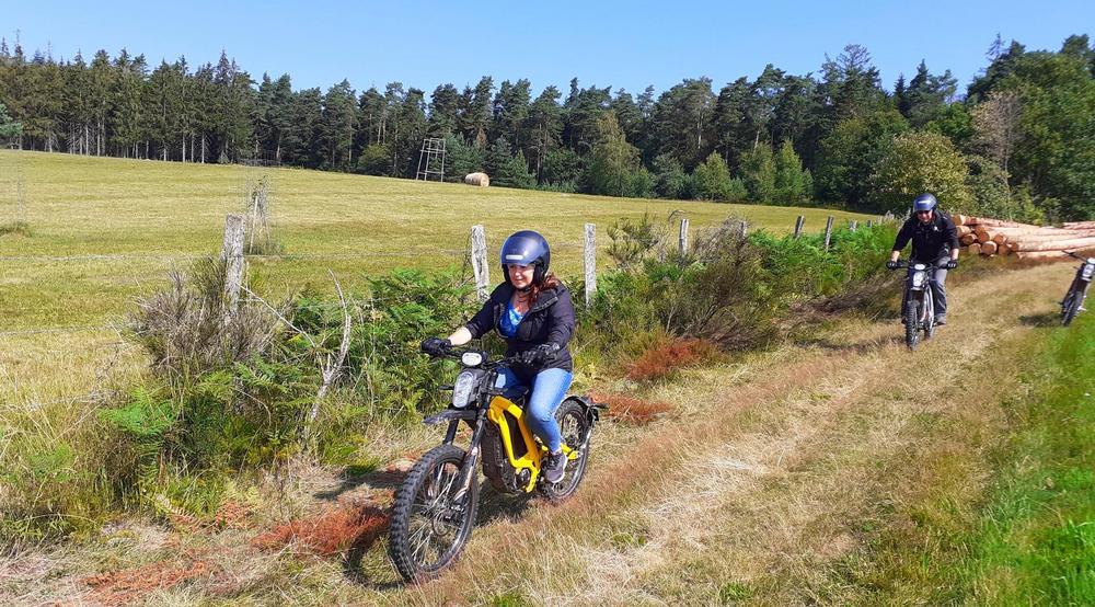 rando moto à Gérardmer